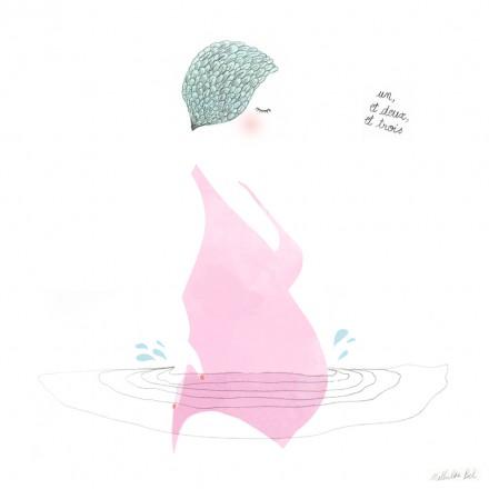 J'ai testé l'aquagym prénatale